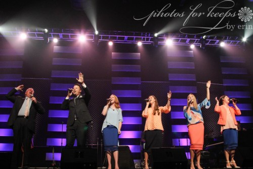 Courtney Collingsworth and the Collingsworth Family in concert