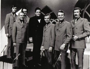 Blackwood Brothers and Johnny Cash