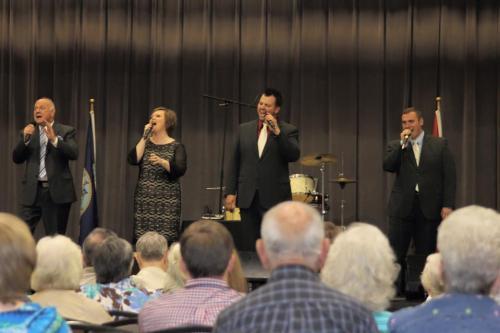 Veterans Night At Southern Gospel Weekend