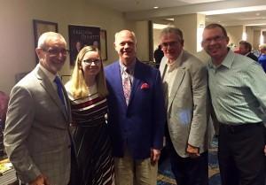 Dean Adkins, Hannah Kennedy, John Crenshaw, Harold Timmons and Brent Joiner