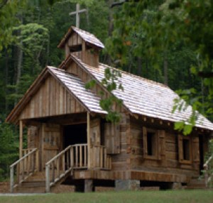 Courtney Chapel. Old Country Church