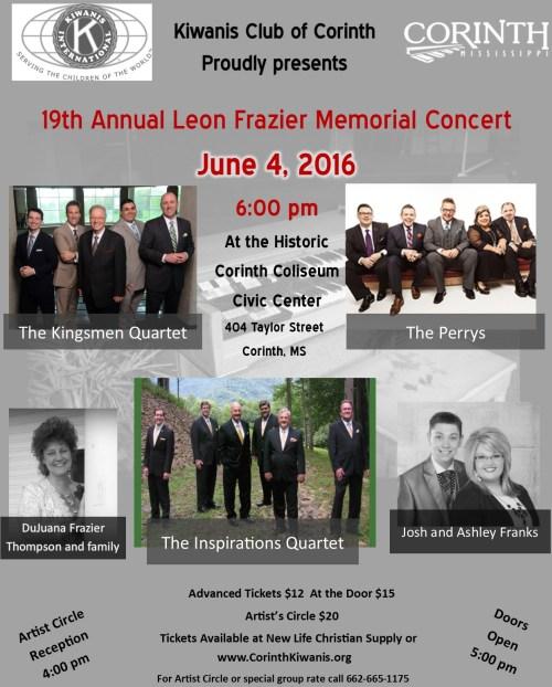 Leon Frazier Memorial Sing