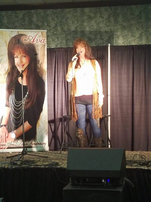 Ava Kasich at CD Release party