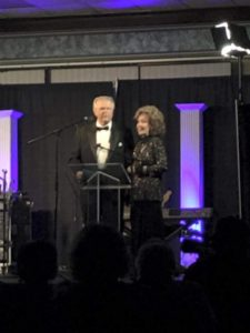 Dr. Jerry and Jan Goff at 2016 Diamond Awards