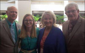WLOSGMH Facebook Administrators (l to R) John Crenshaw, Hannah Kennedy, Ann Downing, Harold Timmons