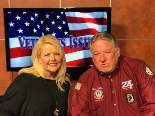 Vonda Easley Of Southern Gospel Weekend Talking To Ken Rollins Of Channel 24