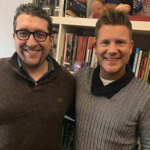 Joseph with Billy Hallowell, Senior Editor of Faithwire.