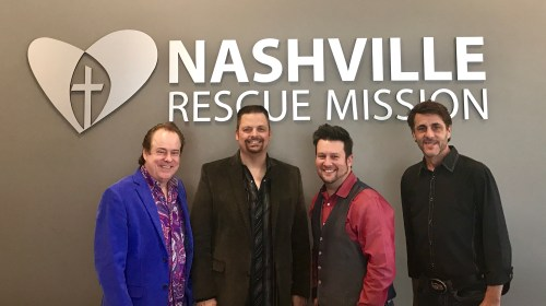 MARK209 SPECIAL GUEST FOR NASHVILLE RESCUE MISSION'S GOOD FRIDAY SERVICE