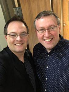 Pat Barker and Rob Patz