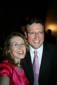 Stephanie Kelley and Rob Patz