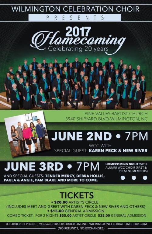 Wilmington Celebration Choir Celebrates 20th Anniversary Homecoming Sing