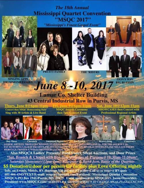 18th Annual Mississippi Quartet Convention
