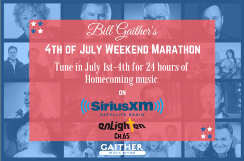 Sirius XM to Partner with Gaither Music Group for a 4th of July