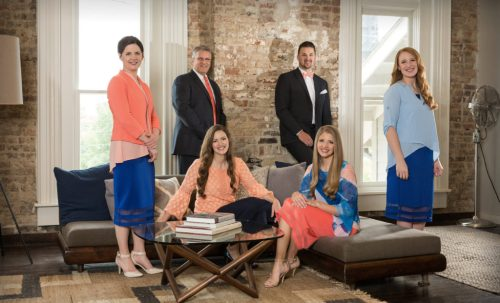 The Collingsworth Family. Photography by: Jake Harsh