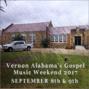 City Hall home of Vernon Alabama's Gospel Music Weekend