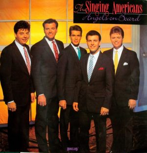 The 1989 version of the Singing Americans 1989 consisted of (from left) Scott Whitener, Clayton Inman, Greg Shockley, Dwayne Burke and James Rainey. Carolina Quartet