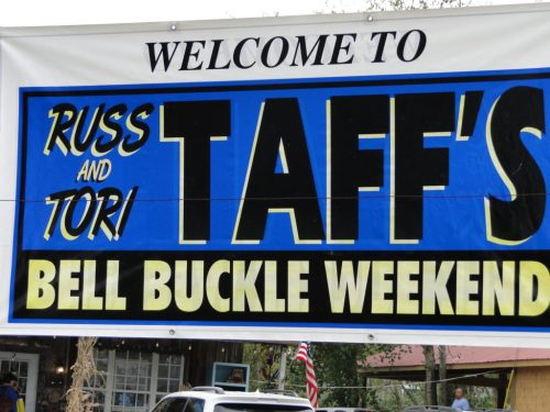 BELL BUCKLE WEEKEND WITH RUSS AND TORI TAFF