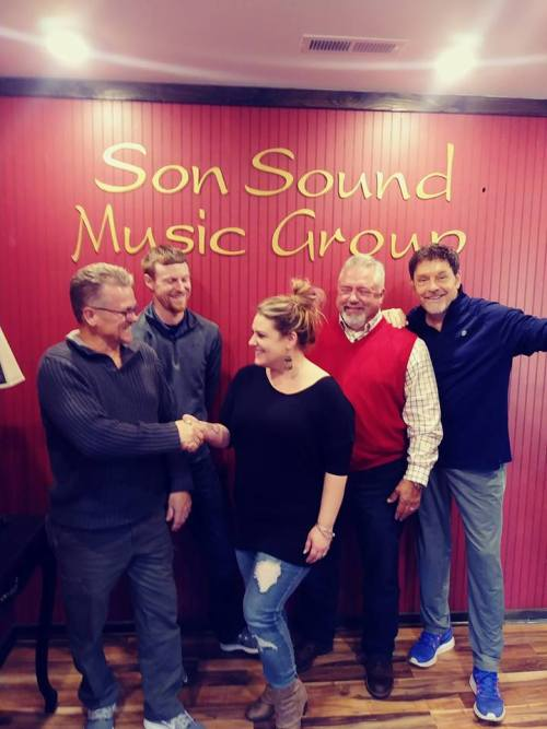 The Melodyaires join Son Sound Music Group