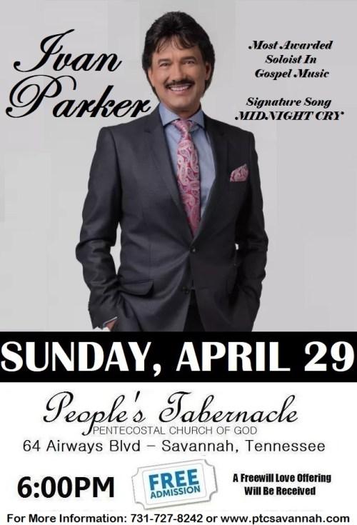 Ivan Parker In Concert