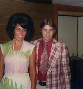 Paul Belcher and Connie Hopper. Detroit MI. 1975