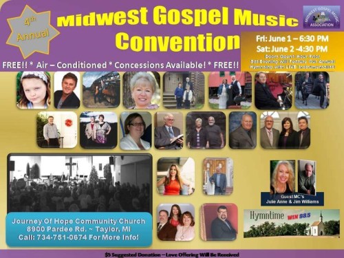 MIDWEST GOSPEL MUSIC CONVENTION