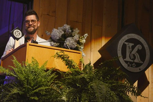 Jason Crabb Inducted into Kentucky Music Hall of Fame