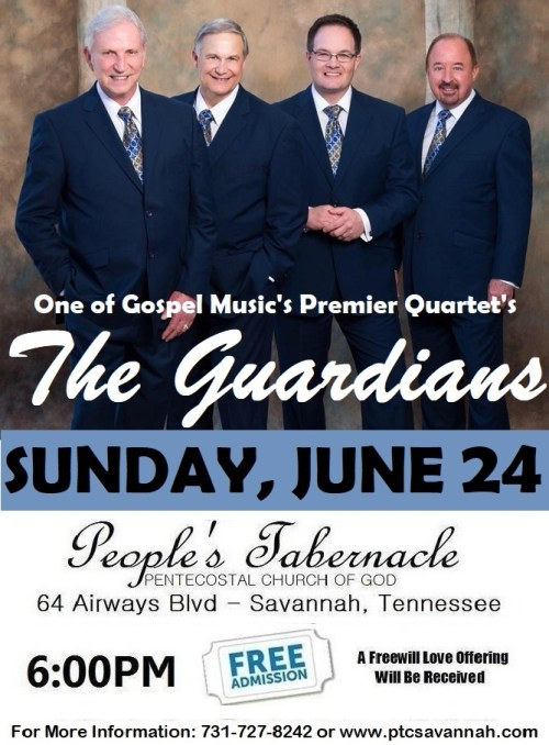 THE GUARDIANS THIS SUNDAY