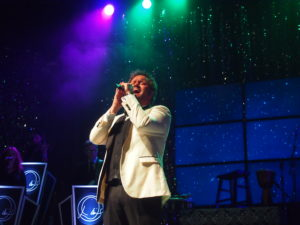 """David Phelps performs his signature song, """"Oh Holy Night."""" Photo by John Herndon"""
