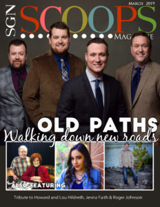 March 2019 SGNScoops Magazine featuring Roger Johnson of Heaven's Mountain Band