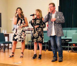Christian Cross Roads in concert