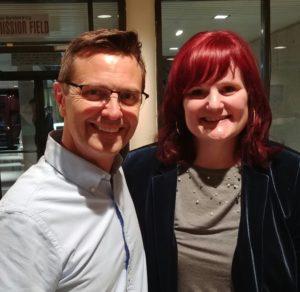 Scott Fowler and Lorraine Walker