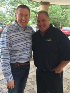 Rob Patz and Doug Bienenfeld of Destination Ann Arbor