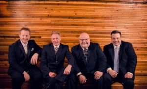 Justified Quartet at Singing on the Square Creekside