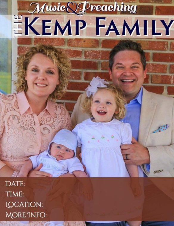 Haley and Kasey Kemp and family