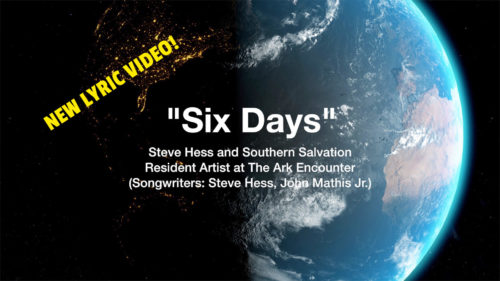 The Ark Encounter & Answers In Genesis Debut New Lyric Video From Steve Hess and Southern Salvation