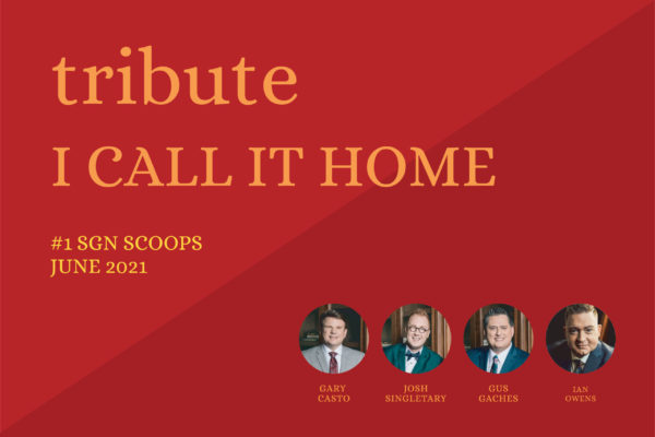 """Tribute Quartet Hits #1 with """"I Call It Home"""""""