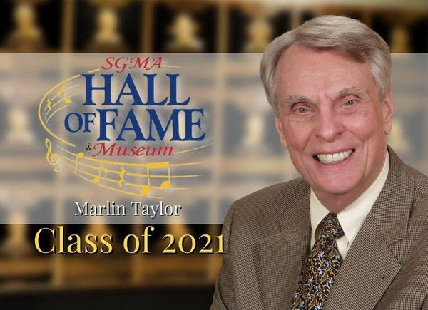 Marlin Taylor is our 2nd of four inductees to the Class of 2021 for the Southern Gospel Music Hall of Fame.