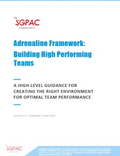 Adrenaline Framework (Cover Page)