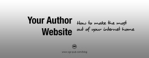 Author website - Your home on the interwebs