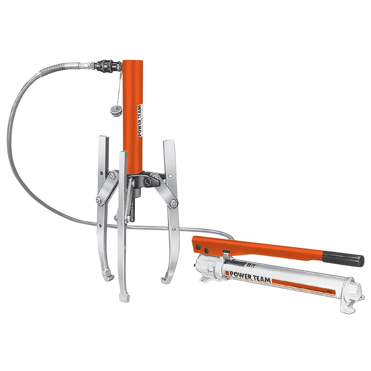 10 Ton Combination 2 Jaw 3 Jaw Hydraulic Puller Set
