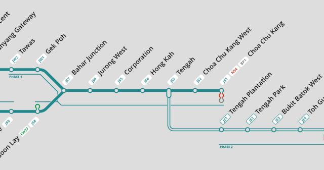 Image result for mrt jurong region line