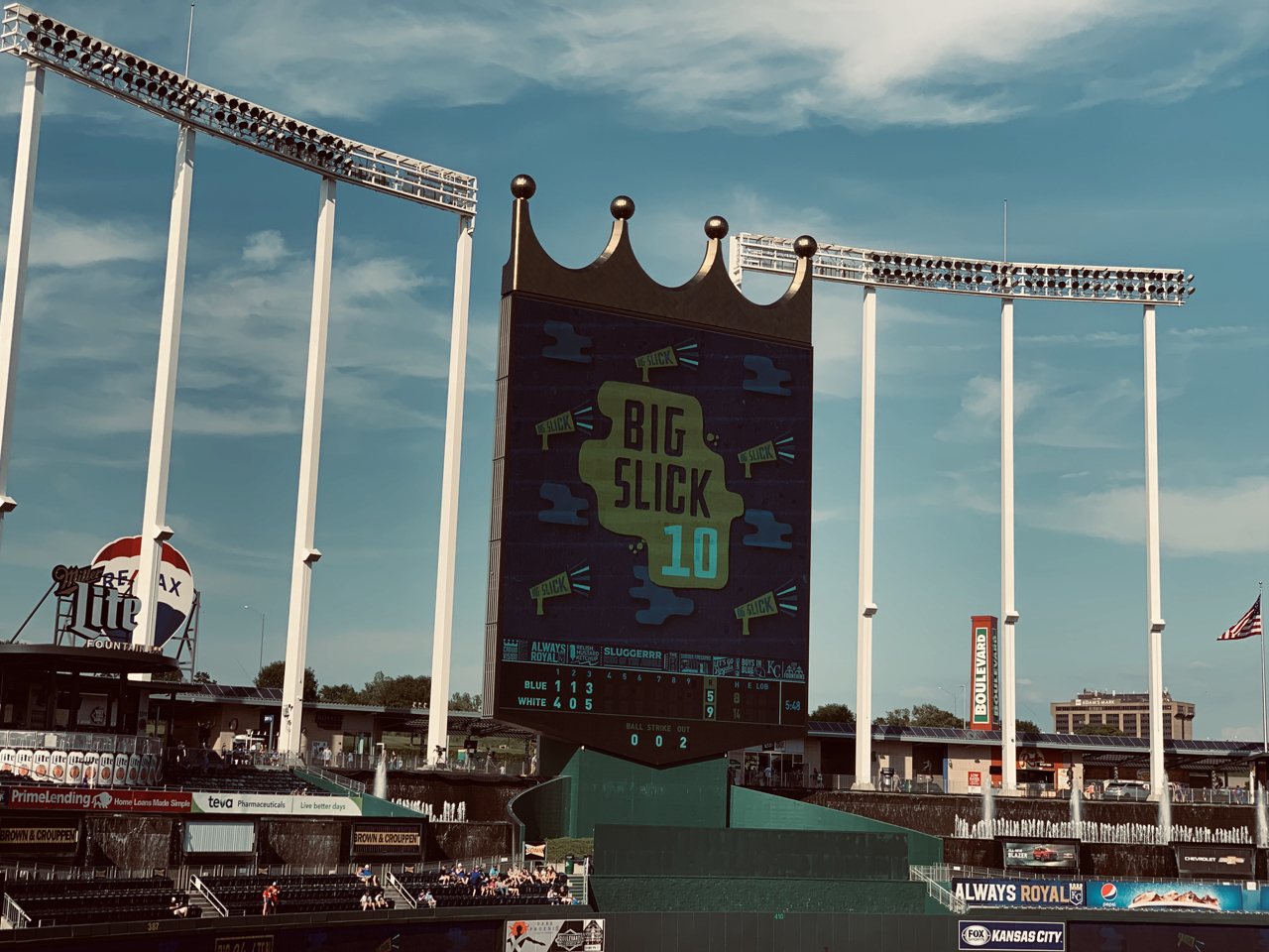 Big Slick 10 at Kauffman Stadium in Kansas City