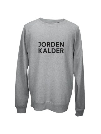 Sweatshirt med tryk - JORDEN KALDER