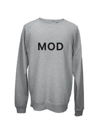 Sweatshirt med tryk – MOD