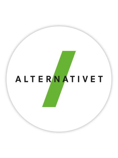 alternativet-klistermaerke-logo
