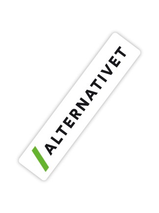 alternativet-klistermaerke-logo