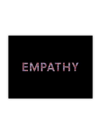 plakat-empathy-red