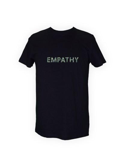 t-shirt-sort-herre-front-groen-empathy