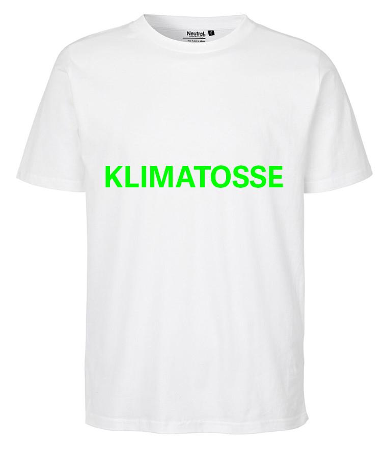 T-shirt med tryk - Klimatosse