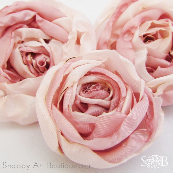 DIY Fabric Peonies   Shabby Art Boutique DIY Fabric Peonies